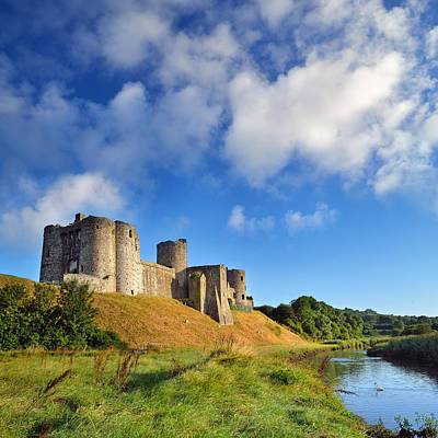 Kidwelly Castle 1 Art Print