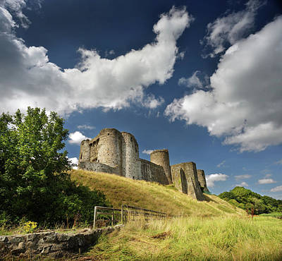 Photograph - Kidwelly Castle 4 by Phil Fitzsimmons