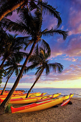 Photograph - Kihei Canoe Club by James Roemmling