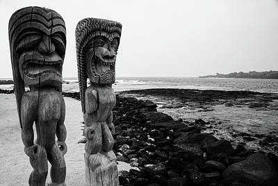 Photograph - Ki'i Guardians by Jennifer Ancker