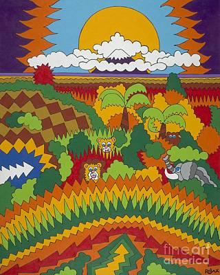 Kilimanjaro Art Print by Rojax Art