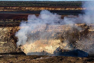 Photograph - Kilauea Halema'uma'u Crater 0 by Jim Thompson