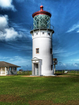 Photograph - Kilauea Light House by Joe  Palermo