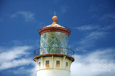 Photograph - Kilauea Lighthouse - Kauai by Peter French - Printscapes