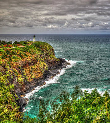Photograph - Kilauea Lighthouse 2 North Shore Kauai Hawaii Art by Reid Callaway