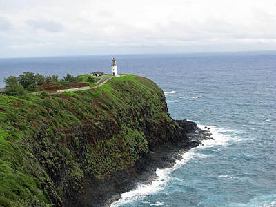Photograph - Kilauea Lighthouse 22 - Kauai, Hawaii by Pamela Critchlow