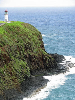 Photograph - Kilauea Lighthouse 25 - Kauai, Hawaii by Pamela Critchlow
