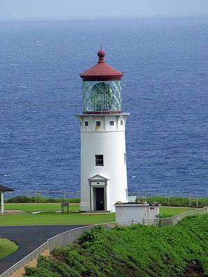 Photograph - Kilauea Lighthouse 26 - Kauai, Hawaii by Pamela Critchlow