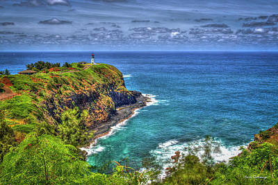 Photograph - Kilauea Lighthouse 7 North Shore Kauai Art by Reid Callaway