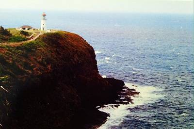 Photograph - Kilauea Lighthouse by Alohi Fujimoto