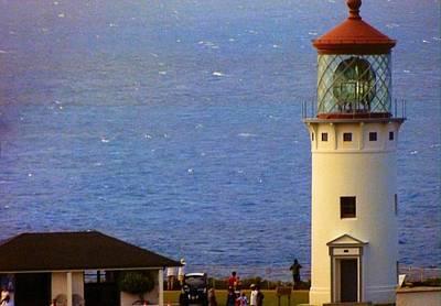 Photograph - Kilauea Lighthouse II by Alohi Fujimoto