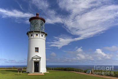 Photograph - Kilauea Lighthouse by Shishir Sathe