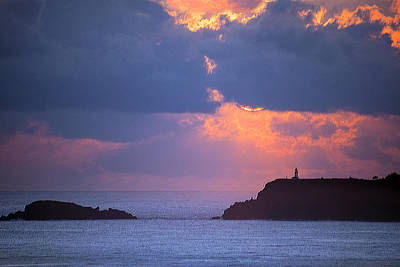 Photograph - Kilauea Lighthouse Sunrise Kauai  by Frank Wilson