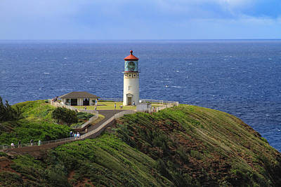 Photograph - Kilauea Point Lighthouse by Bonnie Follett