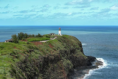 Photograph - Kilauea Point Lighthouse by Susan Rissi Tregoning