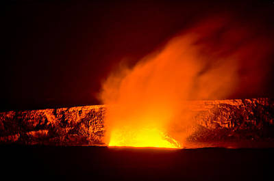 Photograph - Kilauea Volcano by Don Schwartz