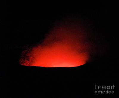 Photograph - Kilauea Volcano Hawaii by Elizabeth Hoskinson