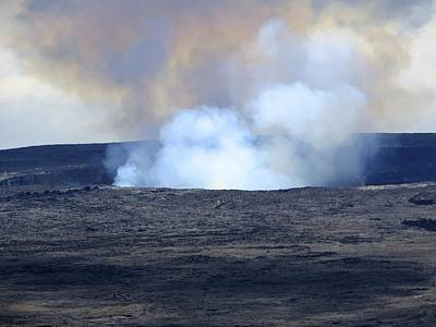 Wall Art - Photograph - Kilauea Volcano by Lucy Moorman