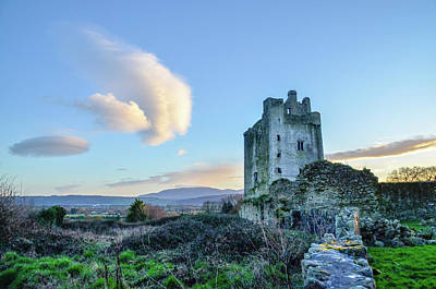 Photograph - Kilcash Castle Ufo by Joe Ormonde