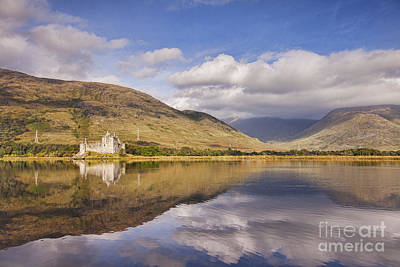 Kilchurn Castle And Loch Awe Art Print by Colin and Linda McKie