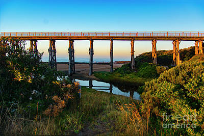 Photograph - Kilcunda Trestle Bridge by Stuart Row