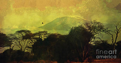 Photograph - Kilimanjaro by Lydia Holly
