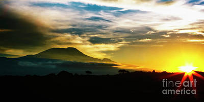 Photograph - Kilimanjaro by Scott Kemper