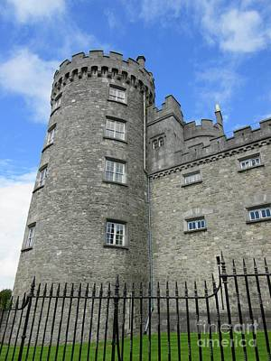 Photograph - Kilkenny Castle Tower by Crystal Rosene