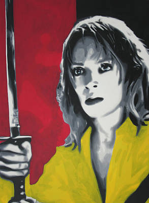 Hong Kong Painting - Kill Bill 2013 by Luis Ludzska