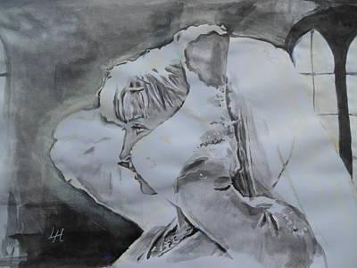 Kill Bill Painting - Kill Bill - Bang Bang 2 by Lucia Hoogervorst