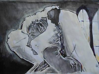 Kill Bill Painting - Kill Bill - Bang Bang by Lucia Hoogervorst