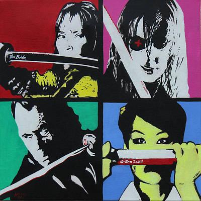 Kill Bill Painting - Kill Bill  by Martin Williams