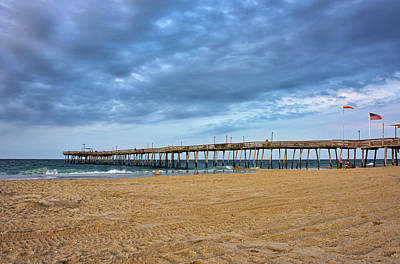 Photograph - Kill Devil Hills At Sunset - Outer Banks by Brendan Reals