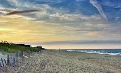 Photograph - Kill Devil Hills Sunset - Outer Banks by Brendan Reals