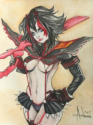 Painting - Kill La Kill by Jimmy Adams