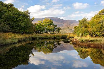 Killarney Lake Reflection Ireland Art Print by Pierre Leclerc Photography