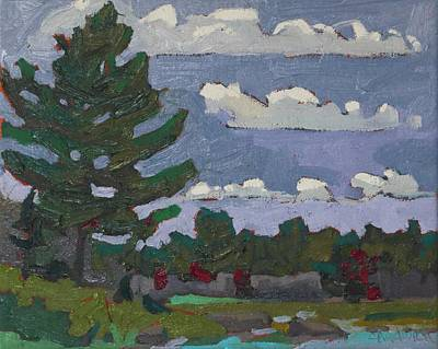 Painting - Killarney White Pine by Phil Chadwick