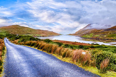 Killary Fjord In Ireland's Connemara Art Print by Mark E Tisdale