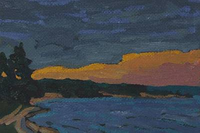 Painting - Killbear Kilcoursie Bay Sunrise by Phil Chadwick