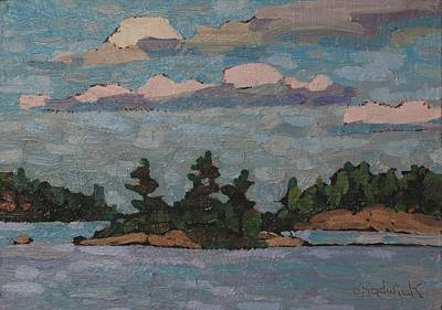 Painting - Killbear Scott Island by Phil Chadwick
