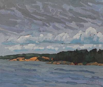 Painting - Killbear Sheltered Coves by Phil Chadwick