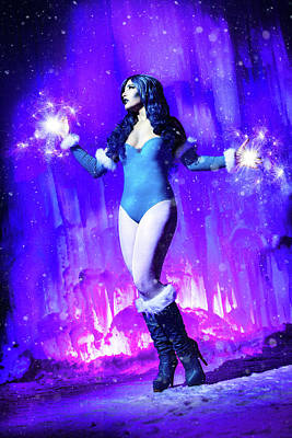 Dc Comics Photograph - Killer Frost by Ian MacDonald