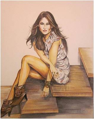 Kareena Kapoor Painting - Killer Looks by Rafath Khan