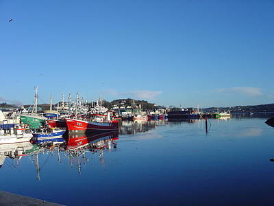 Photograph - Killeybeggs Harbor by John Moyer