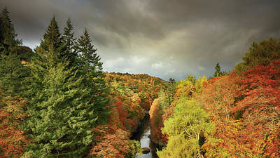 Photograph - Killiecrankie Autumn by Grant Glendinning