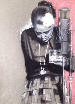 Painting - Killing Billie Holiday by Gregory DeGroat