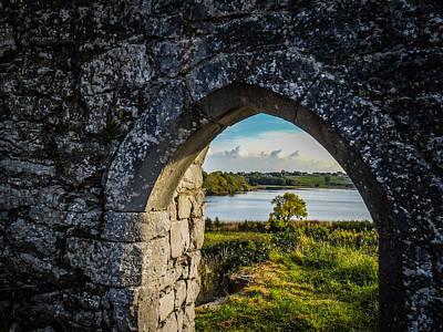Photograph - Killone Lake From 12th Century Abbey by James Truett
