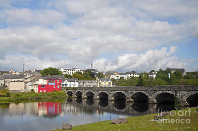 Photograph - Killorglin Bridge by Cindy Murphy - NightVisions