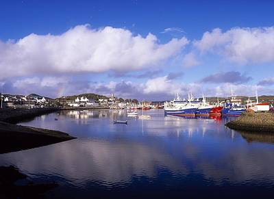 Donegal Photograph - Killybegs, Co Donegal, Ireland by The Irish Image Collection
