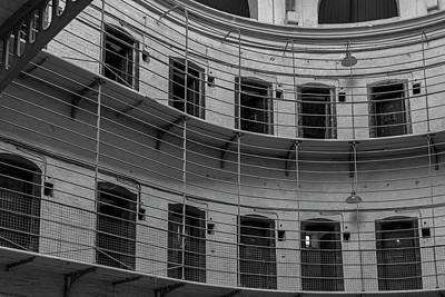 Photograph - Kilmainham Gaol Bw by Teresa Wilson